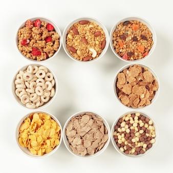 Zdrowe składniki śniadaniowe