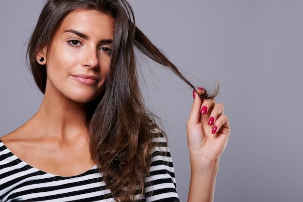 Zdrowe włosy dzięki bardzo zdrowej diecie