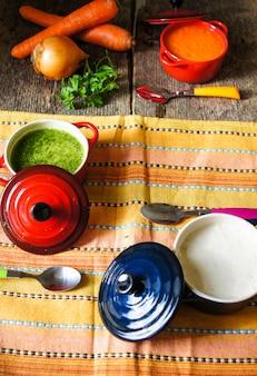 Zdrowy obiad, zupa jarzynowa