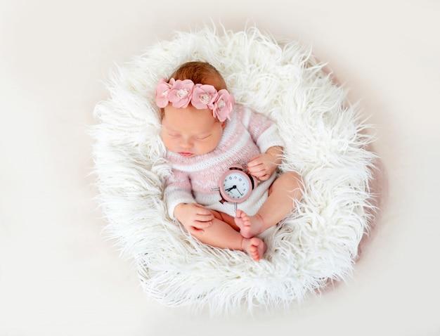 Zegar gospodarstwa noworodka