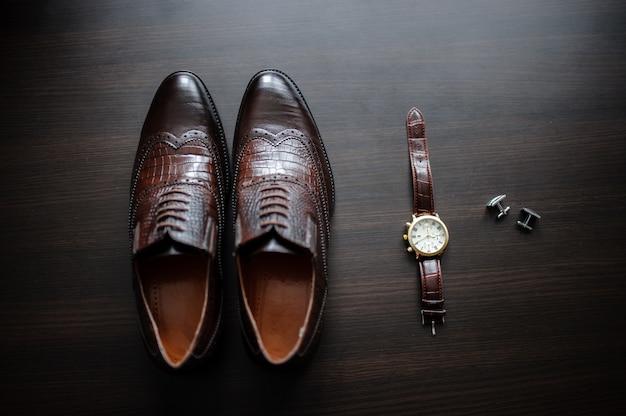 Zegarki i buty męskie