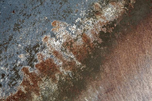 Żelazna zardzewiała powierzchnia