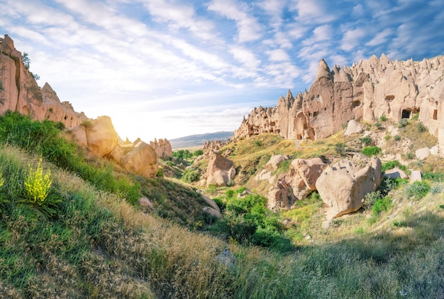Zelve valley i skansen