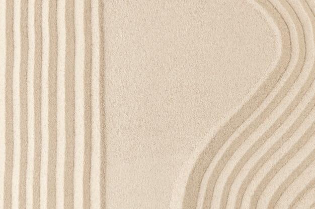 Zen fala piasku teksturowanej tło w koncepcji zdrowia i odnowy biologicznej