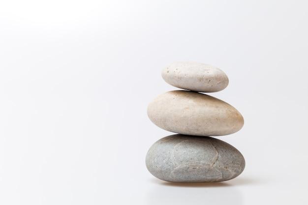 Zen kamień na tle spa