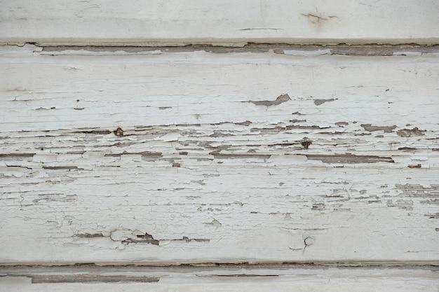 Zepsute białego drewna