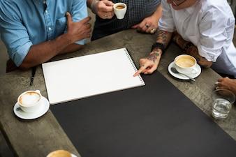 Zespół współpracy Brainstorming Unity