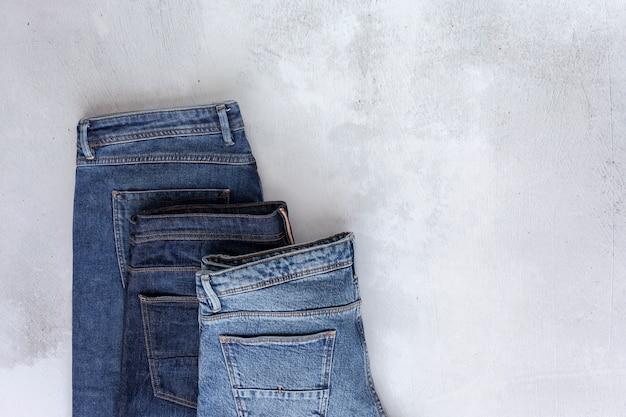 Zestaw akcesoriów moda ubrania widziana z góry, widok z góry