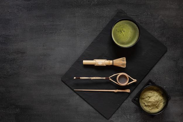 Zestaw do ceremonii zielonej herbaty matcha