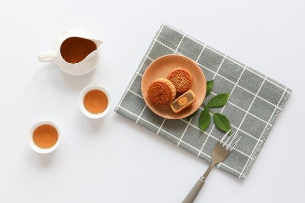 Zestaw do ciasta księżycowego high tea