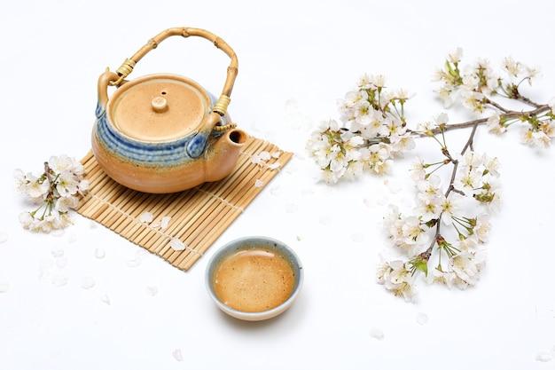 Zestaw do herbaty kwiat wiśni i japoński