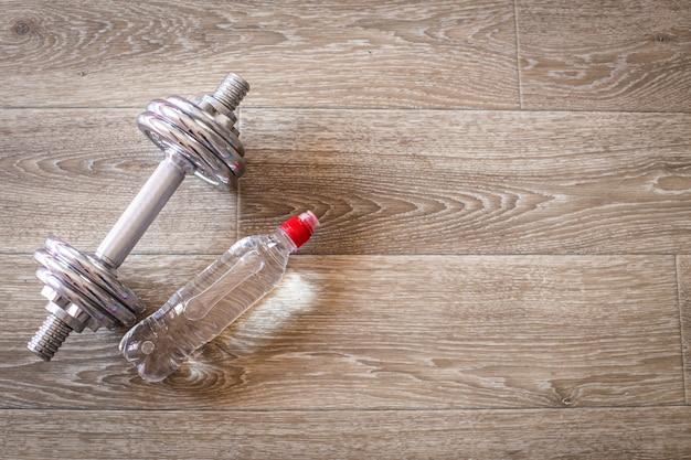 Zestaw do uprawiania sportów na podłodze wyłożonej kafelkami