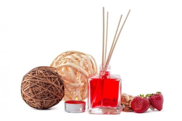 Zestaw dyfuzorów zapachowych butelka z laskami zapachowymi (dyfuzory trzcinowe)