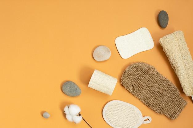 Zestaw ekologicznych gąbek do pielęgnacji ciała