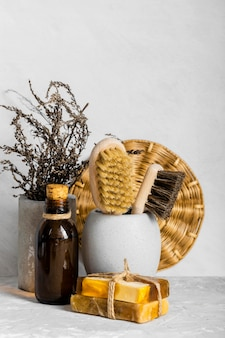 Zestaw ekologicznych środków czyszczących z mydłami