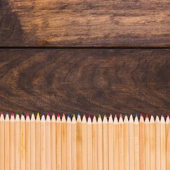 Zestaw kolorowych ołówków
