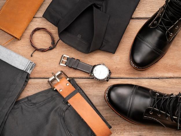 Zestaw kreatywnej mody dla mężczyzn