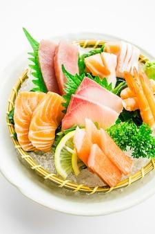 Zestaw mieszanych sashimi