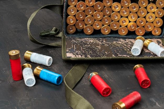 Zestaw nabojów do strzelby myśliwskiej