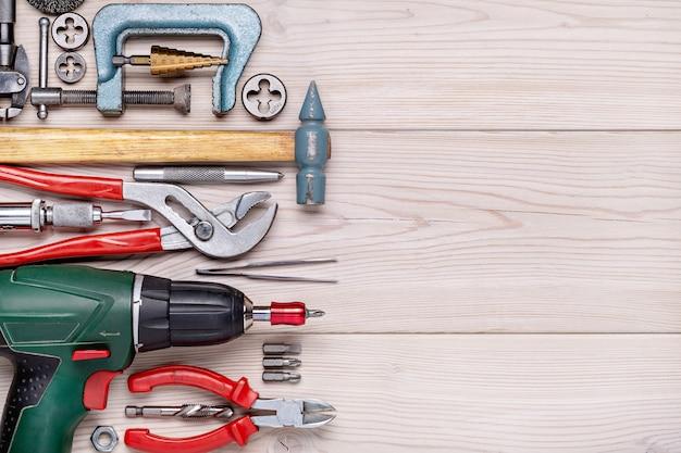 Zestaw narzędzi do wykonywania prac domowych