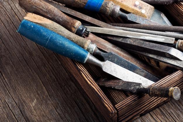 Zestaw narzędzi ręcznych do stolarki