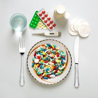 Zestaw obiadowy medyczny