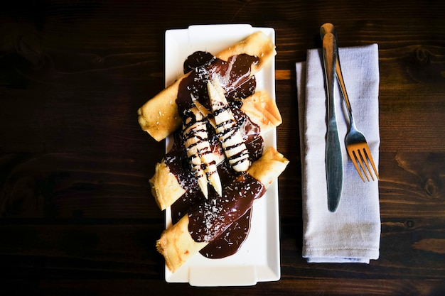 Zestaw obiadowy rustykalny