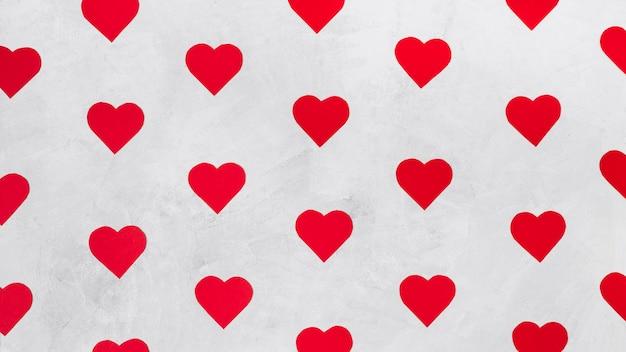 Zestaw papieru dekoracyjne serca