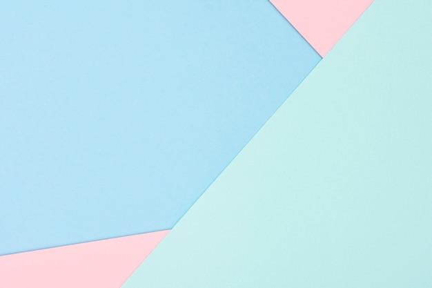 Zestaw pastelowych arkuszy papieru