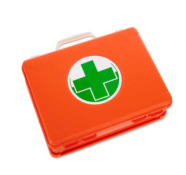 Zestaw pierwszej pomocy izolowany