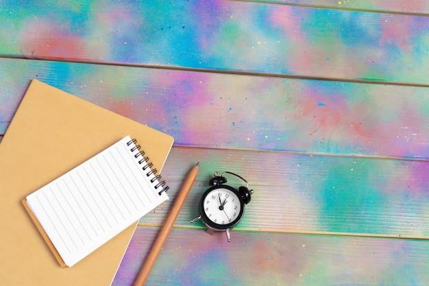 Zestaw pustych artykułów piśmiennych