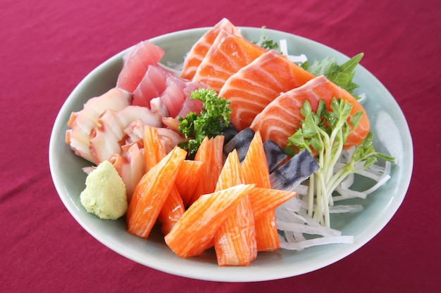 Zestaw sashimi