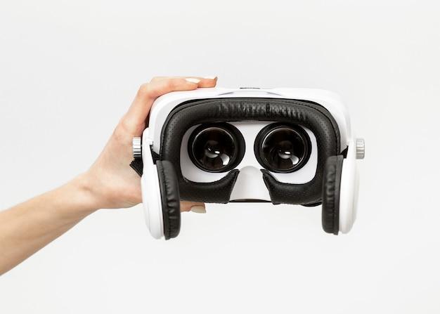 Zestaw słuchawkowy do rzeczywistości wirtualnej z bliska