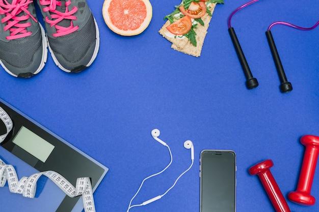 Zestaw sportowy do prawidłowego procesu treningu