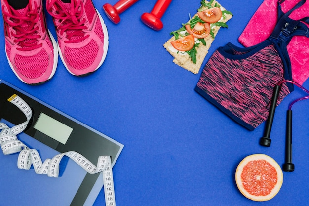 Zestaw sportowy do zdrowego procesu treningowego
