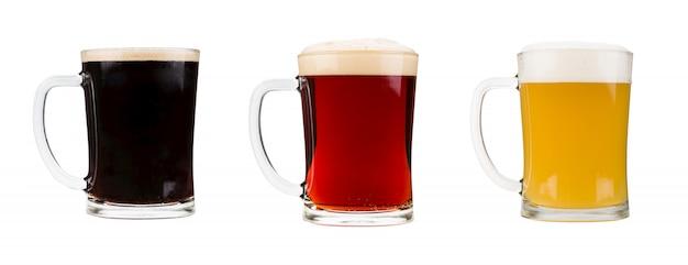 Zestaw szklanek do piwa