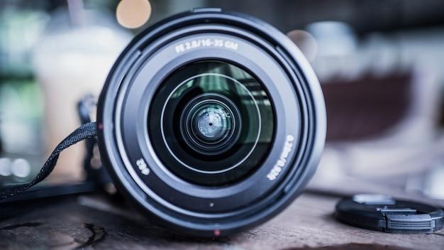 Zestaw z obiektywem aparatu cyfrowego