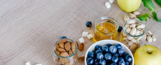 Zestaw zdrowego śniadania