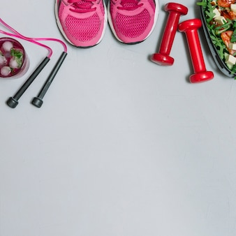 Zestaw zdrowego sportowca