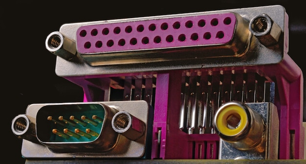 Zewnętrzne porty płyty głównej komputera