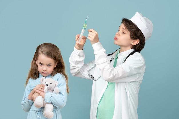 Zgaduję, mówimy tutaj o poważnej medycynie