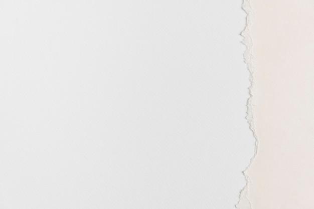 Zgrane białe tło obramowania papieru diy