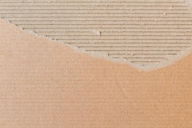 Zgrane, podarte tło kartonowe
