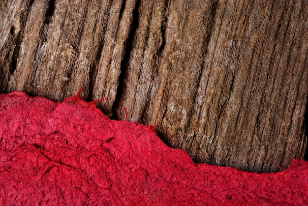 Zgrywanie szablon papieru tekstury z drewna