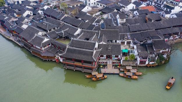 Zhujiajiao water town w szanghaju