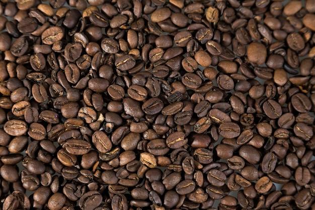 Ziarna kawy na pełną klatkę
