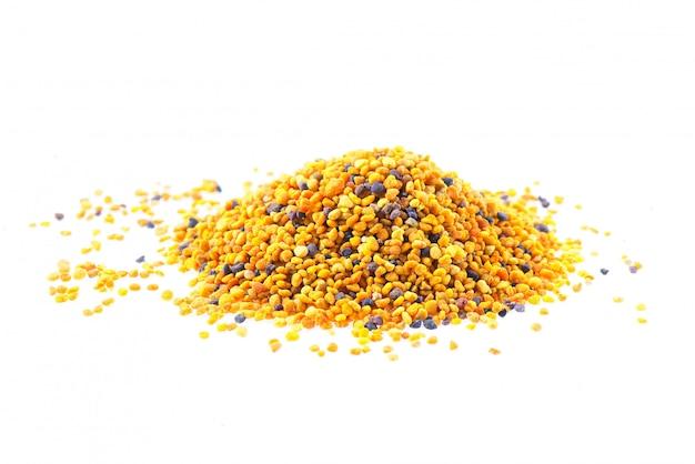 Ziarna pszczół pyłkowych