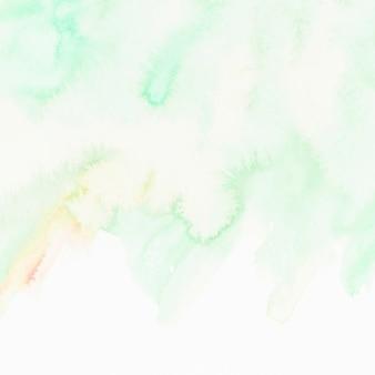 Zieleń textured ręka malujący tło
