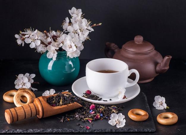 Zielona herbata bergamot