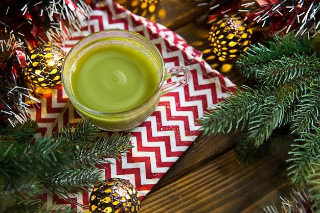 Zielona japońska herbata matcha